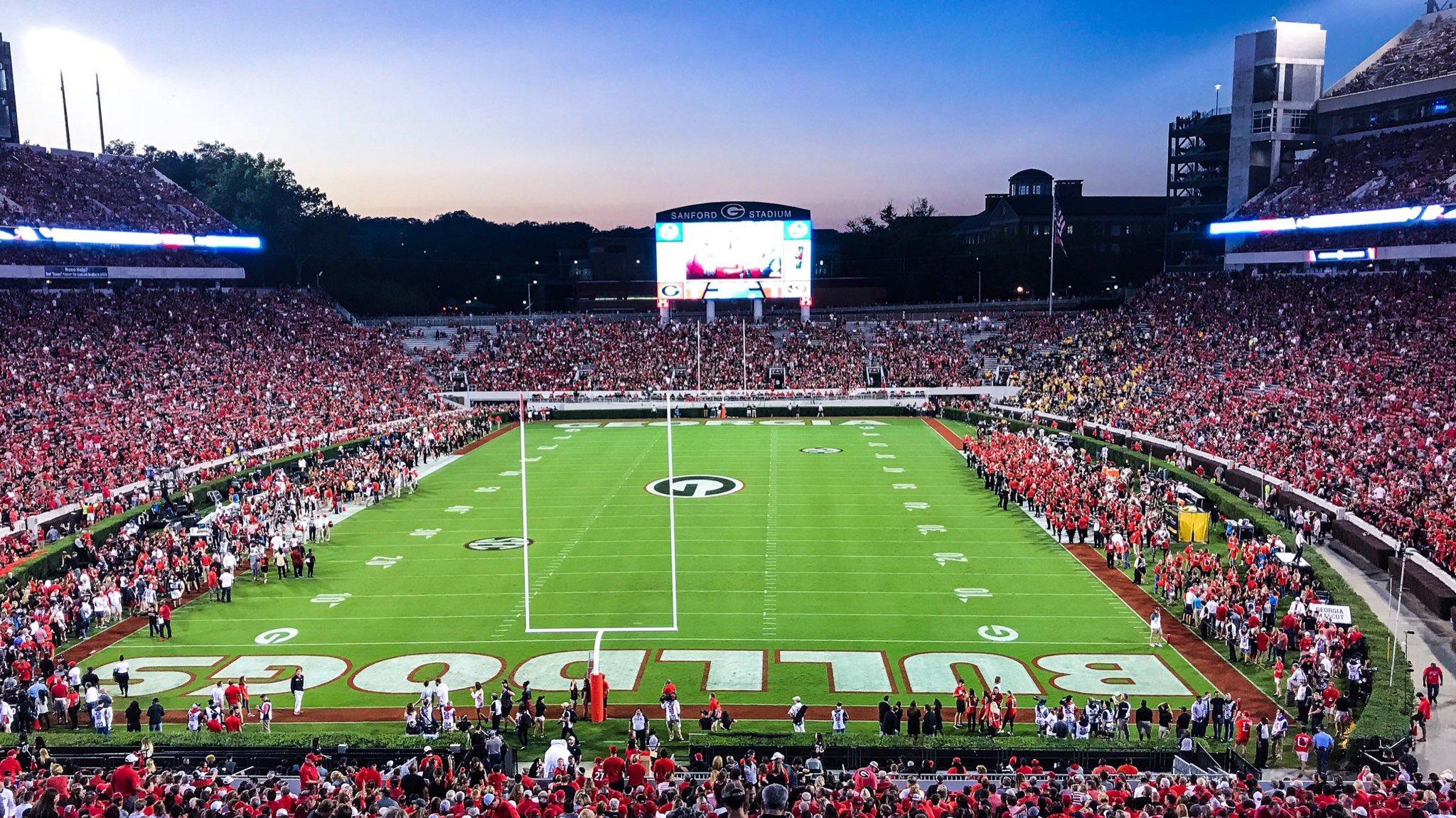 Sunset over Sanford | 2017 Georgia vs Missouri