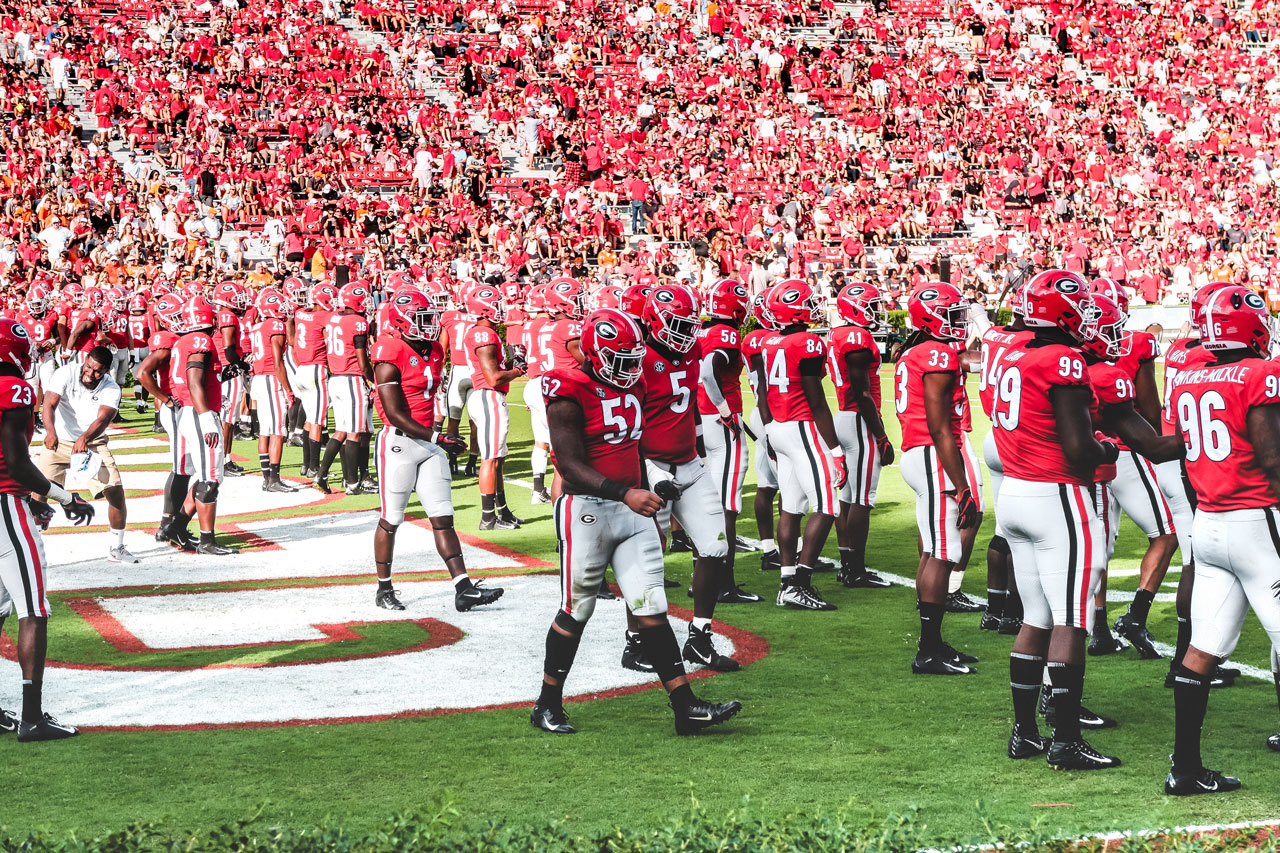 Georgia posted back to back 11 win regular seasons for the first time in school history. ( Photo: Scott Duvall / Jawavi Films )