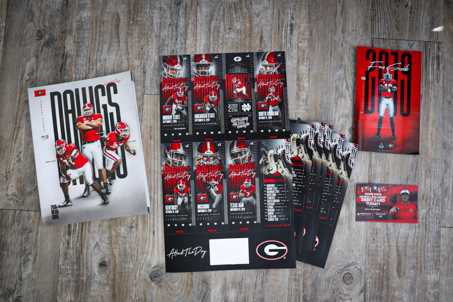 The 2019 Georgia Bulldogs Season Tickets | #AttackTheDay
