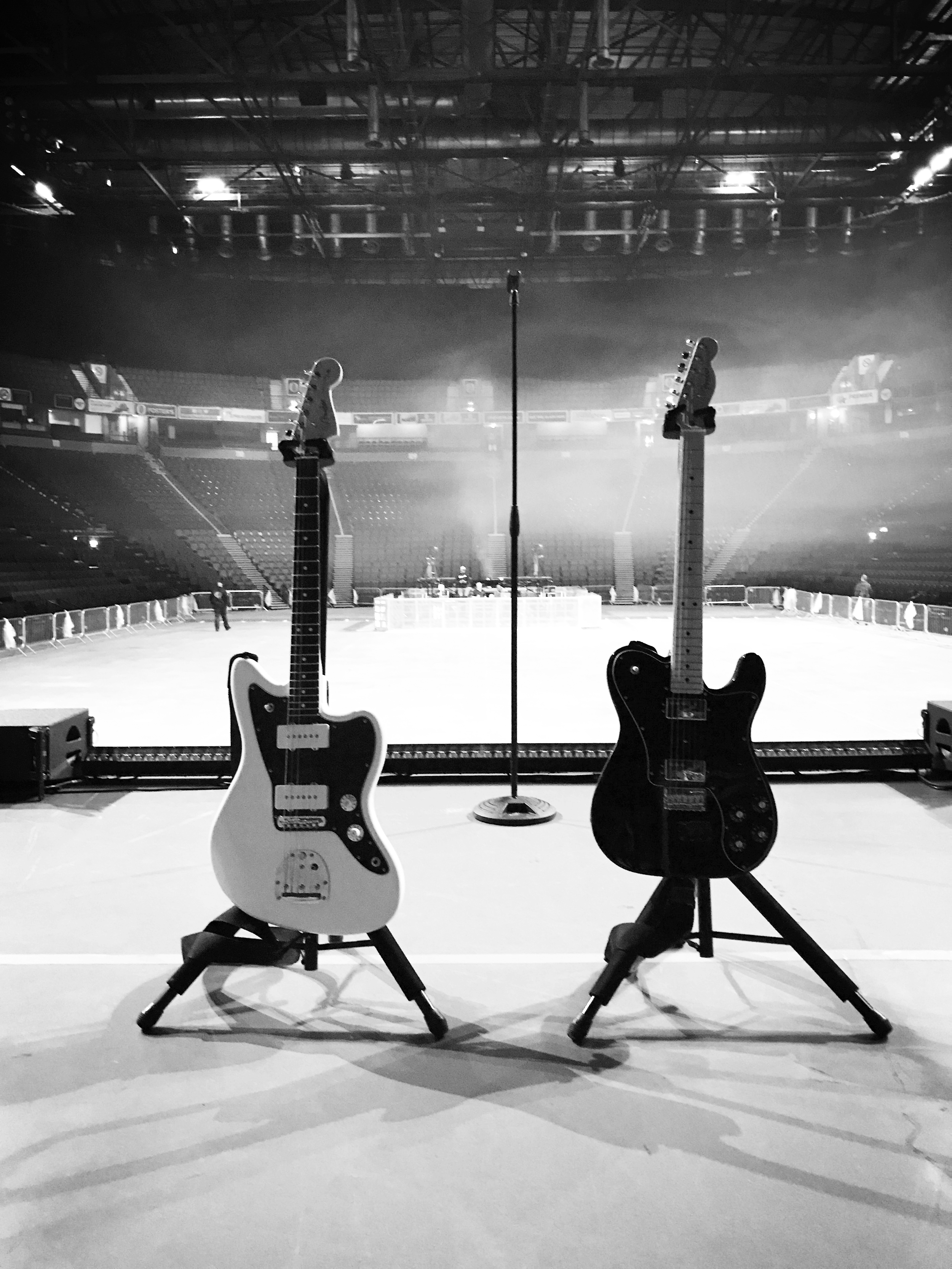 David is proud to endorse Fender Guitars. -