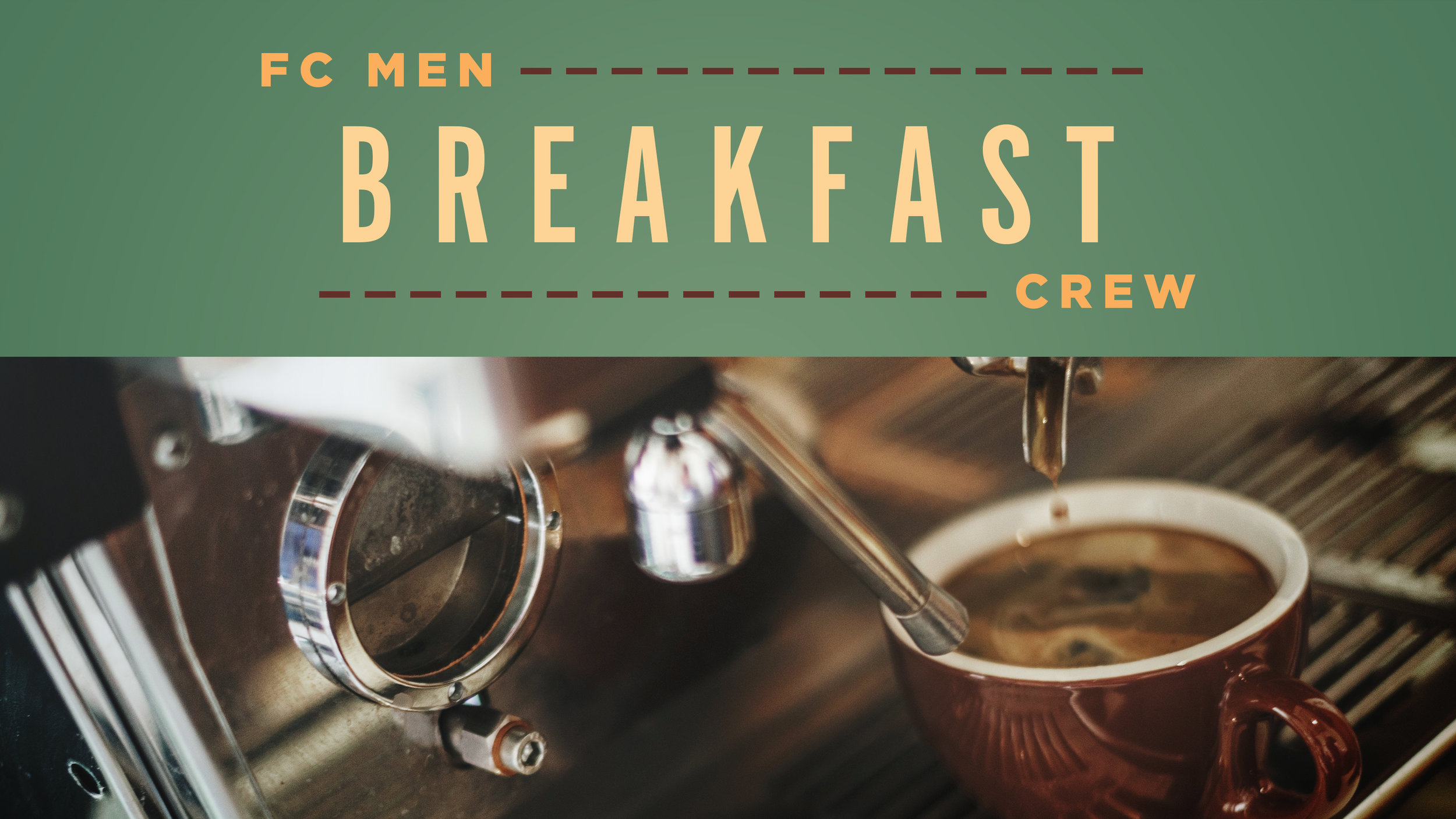 Foundations Church Men Breakfast Connect Group