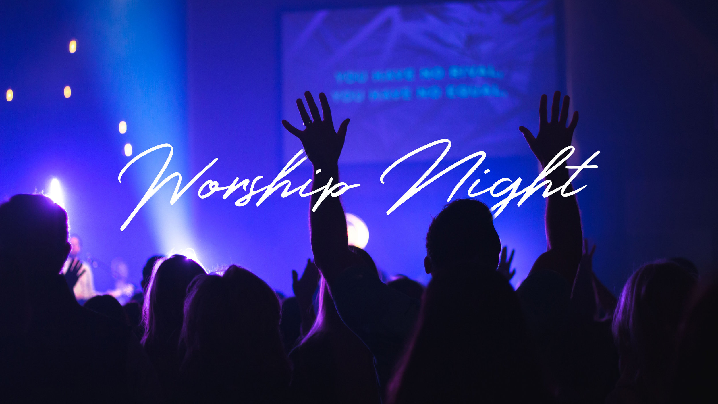 Foundations Church Worship Night November 16