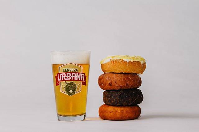 🍩🍺 Now this is our kind of breakfast 🍩🍺