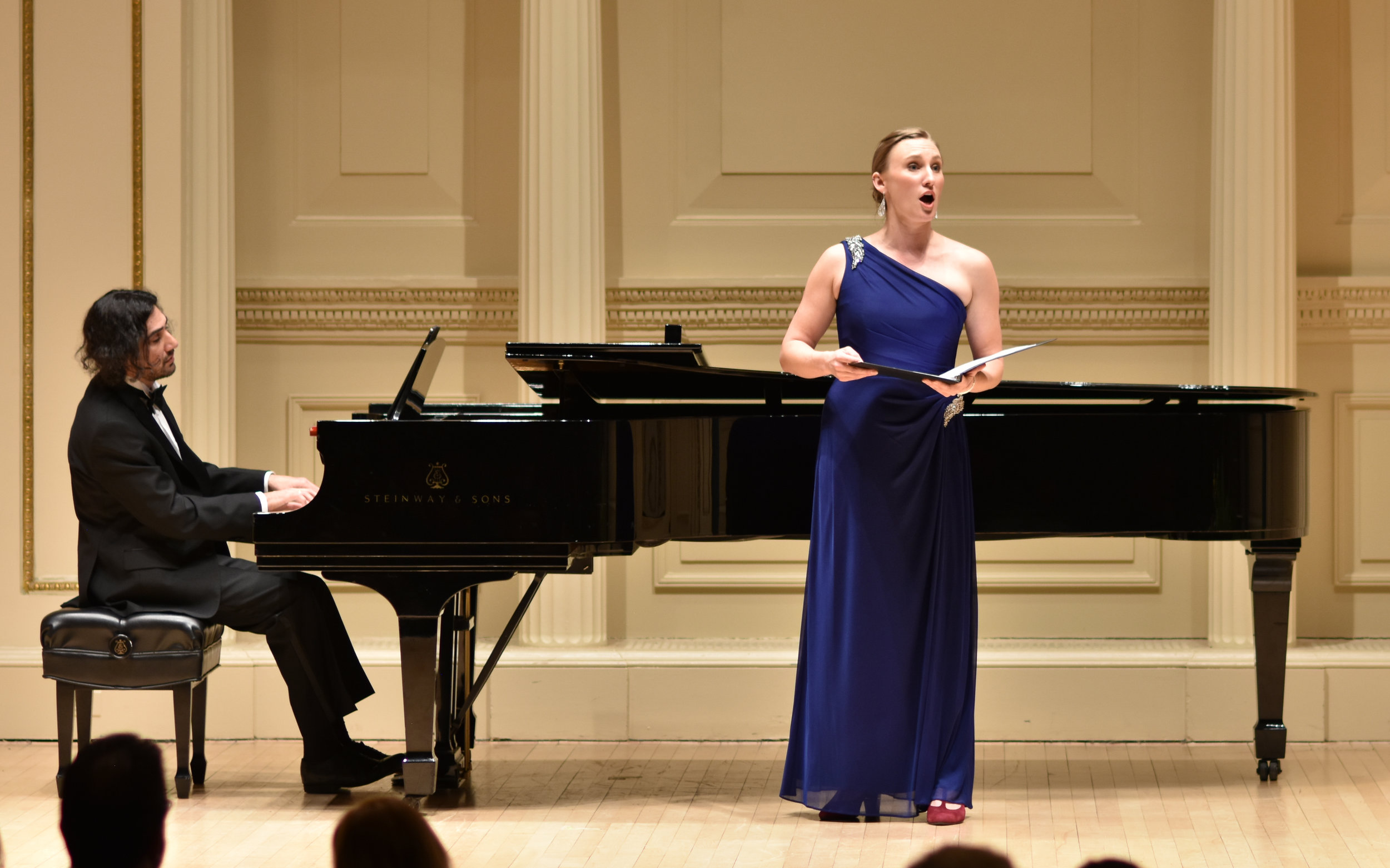 THE LYNDON WOODSIDE ORATORIO-SOLO COMPETITION, Carnegie Hall: Photo credit Tim Dwight