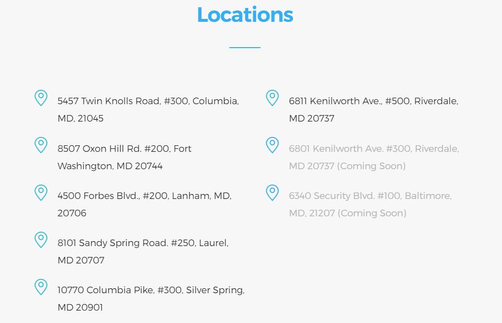 Perfect Office LLC Locations