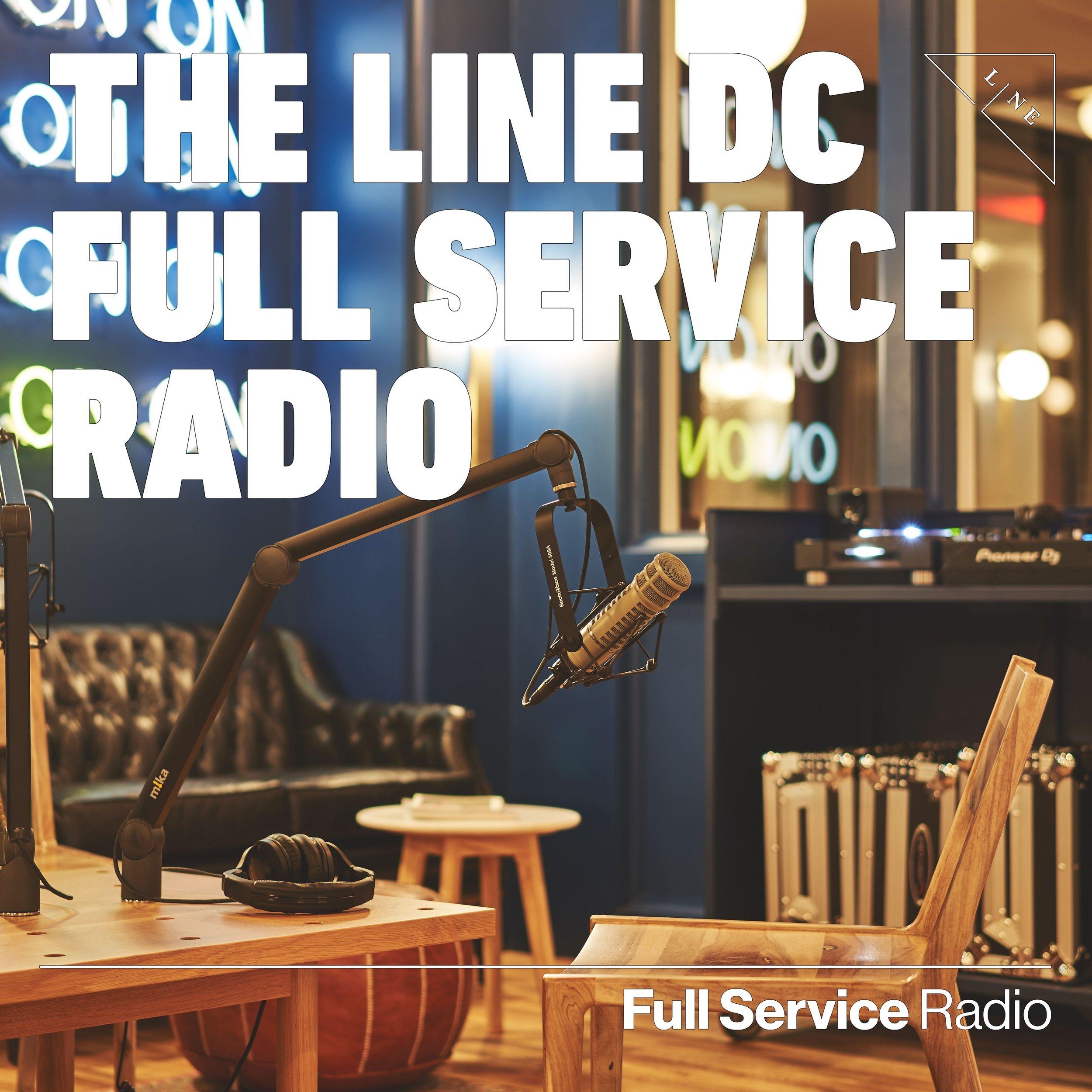 The Line DC Full Service Radio Lobby