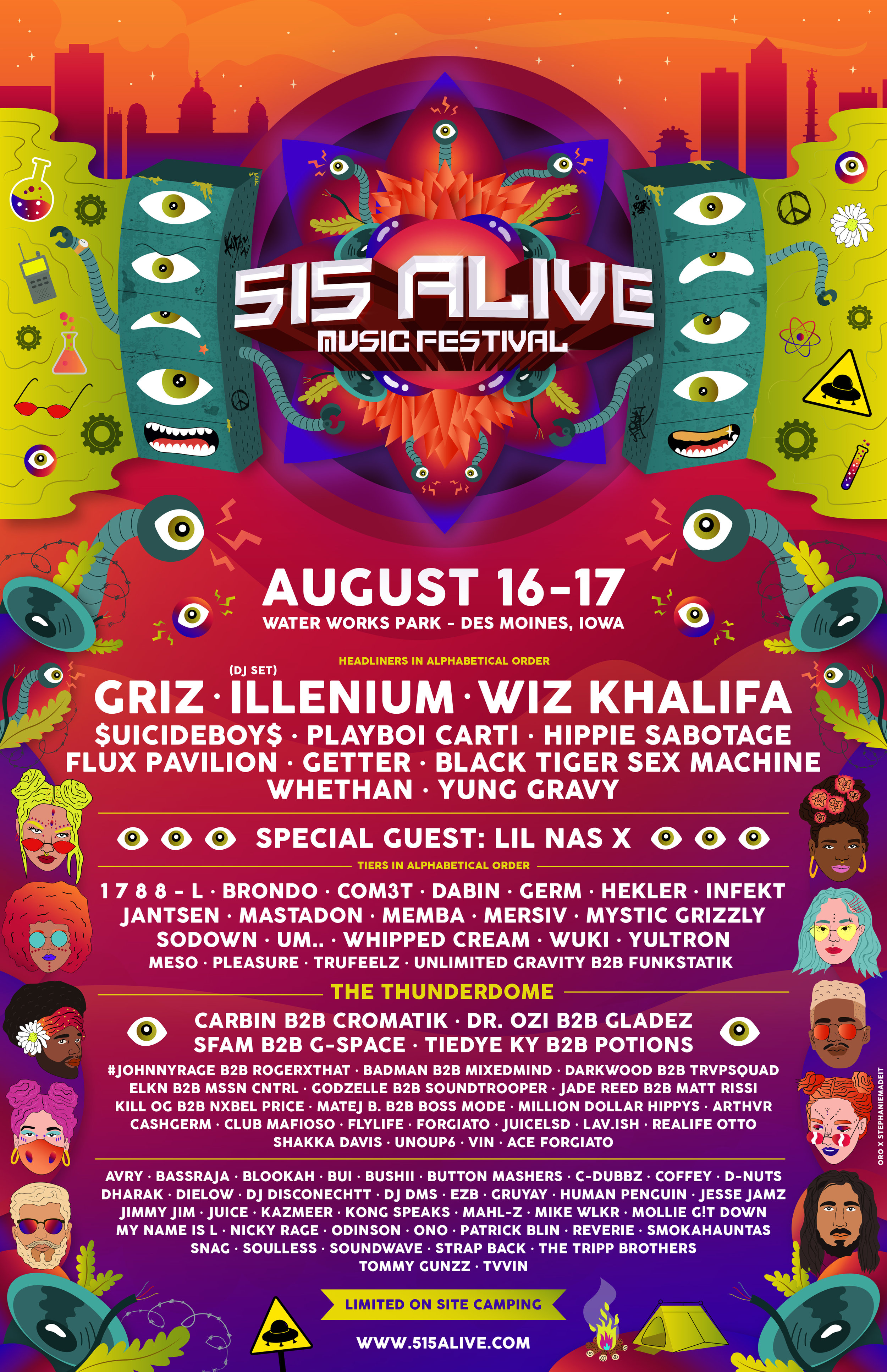 LINEUP — 515 Alive