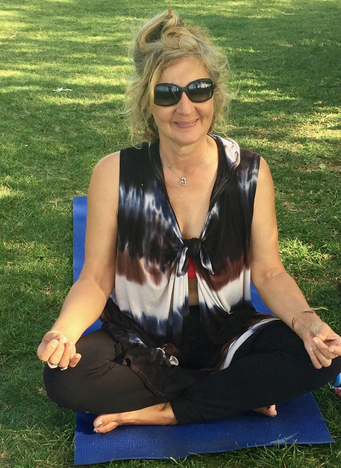 Meditating on lawn - EveKauai.jpg