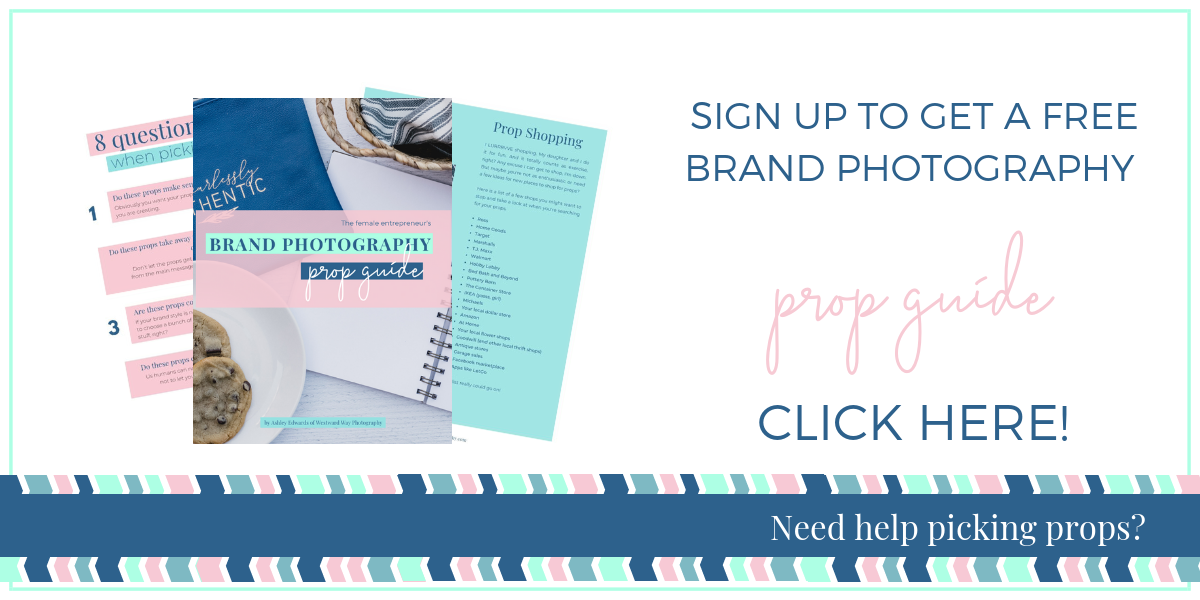 Brand Photography Prop Guide -