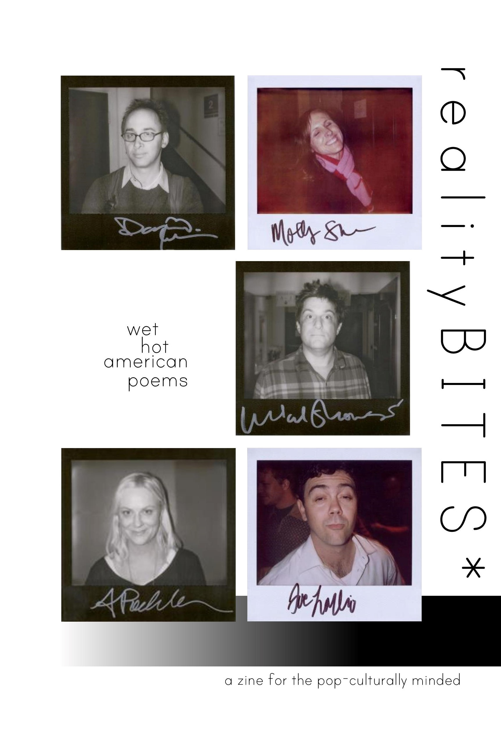realityBITES | issue 5 - wet hot american poems