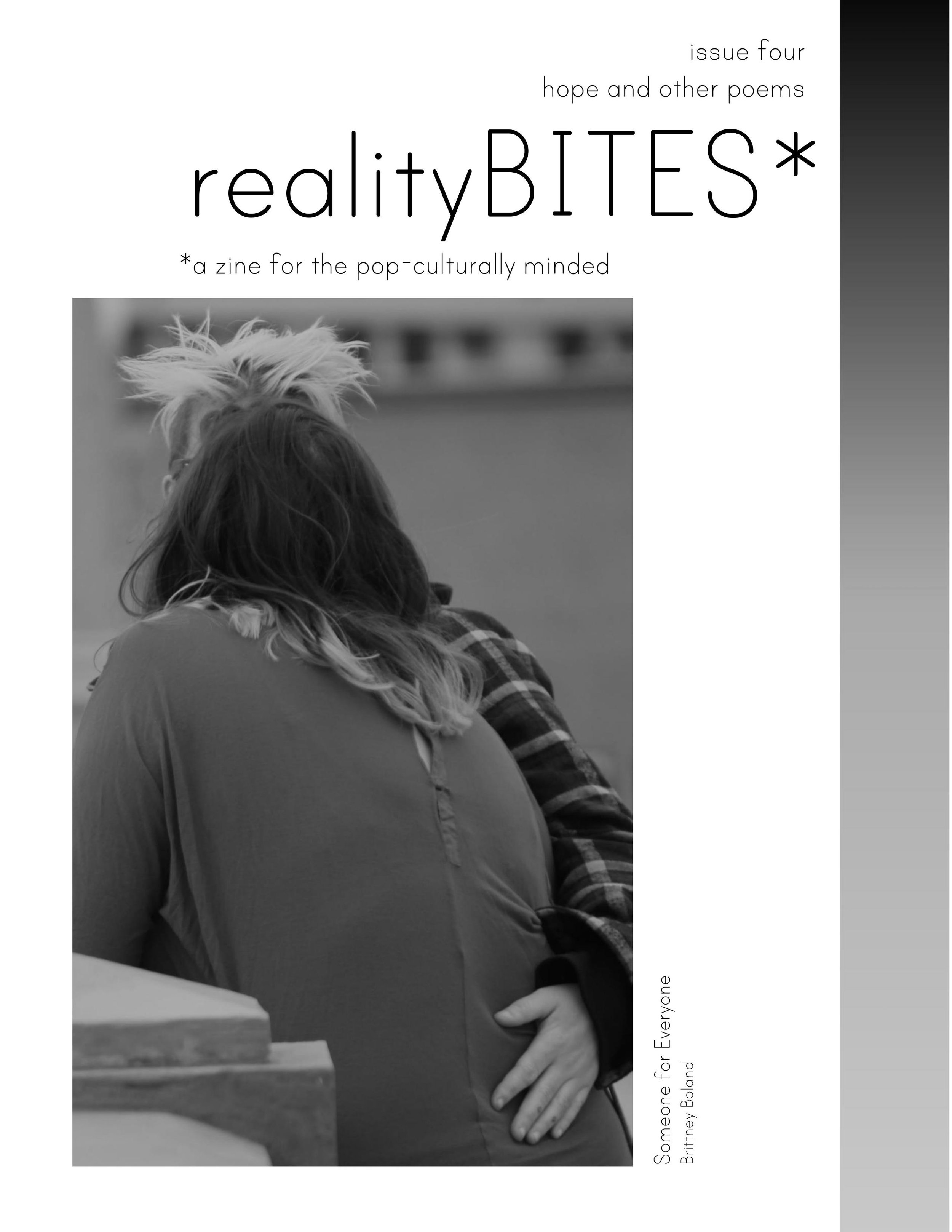 realityBITES | issue 4 - hope and other poems