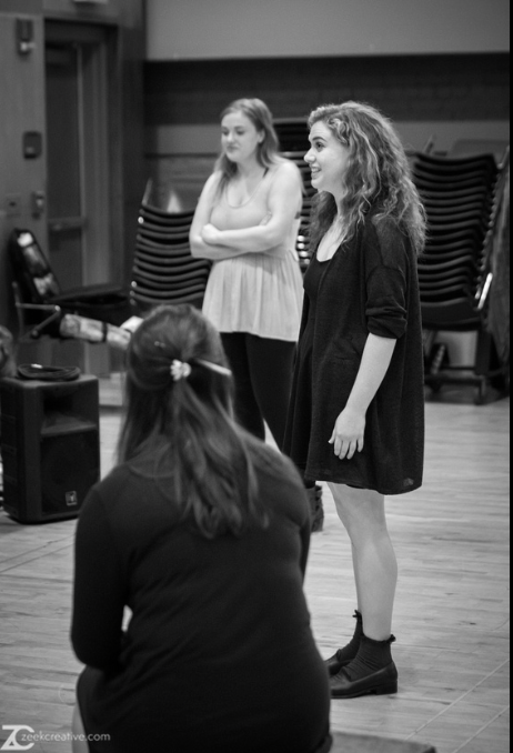 In Rehearsal for  Romeo and Juliet