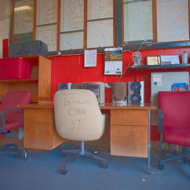 ed's chair •