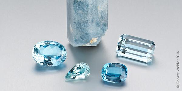 Aquamarine March Birthstone at Portsmouth Jewelers