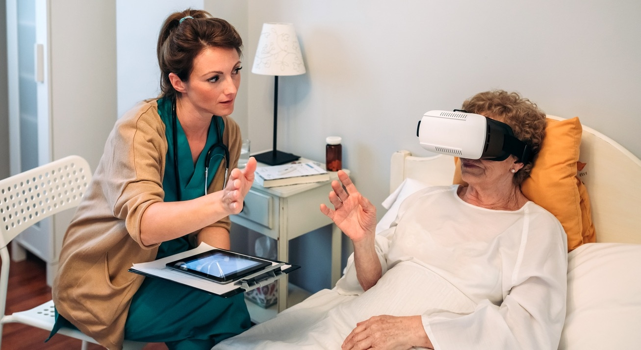 Old Patient Using VR consultation at doctor office small.jpg