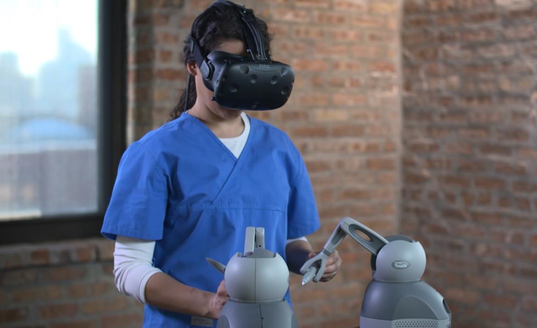 From the advanced virtual surgery simulator, ImmersiveSim