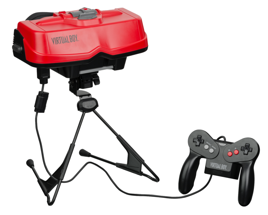 The Virtual Boy couldn't do much, but it felt like the future