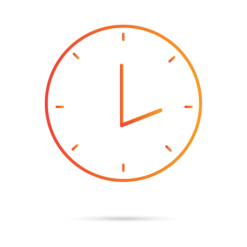 Our Services Accommodate Your Schedule Icon by IT