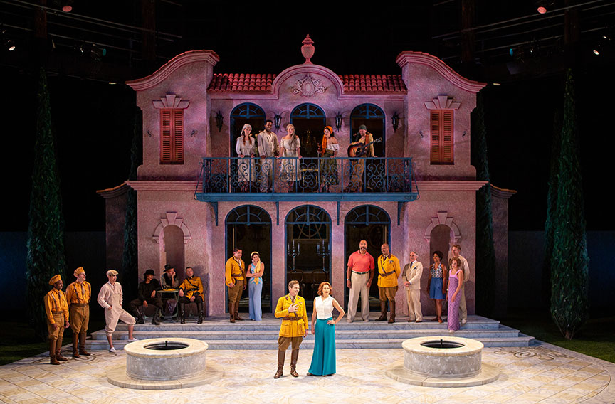 Benedick,  Much Ado About Nothing , The Old Globe  Photo by Jim Cox