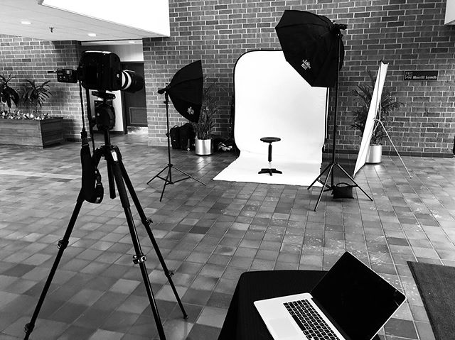 Today's Camera Room - Shooting On-Location Headshots  #ClevelandHeadshotPhotographer https://www.portraitsbymatthew.com/headshots
