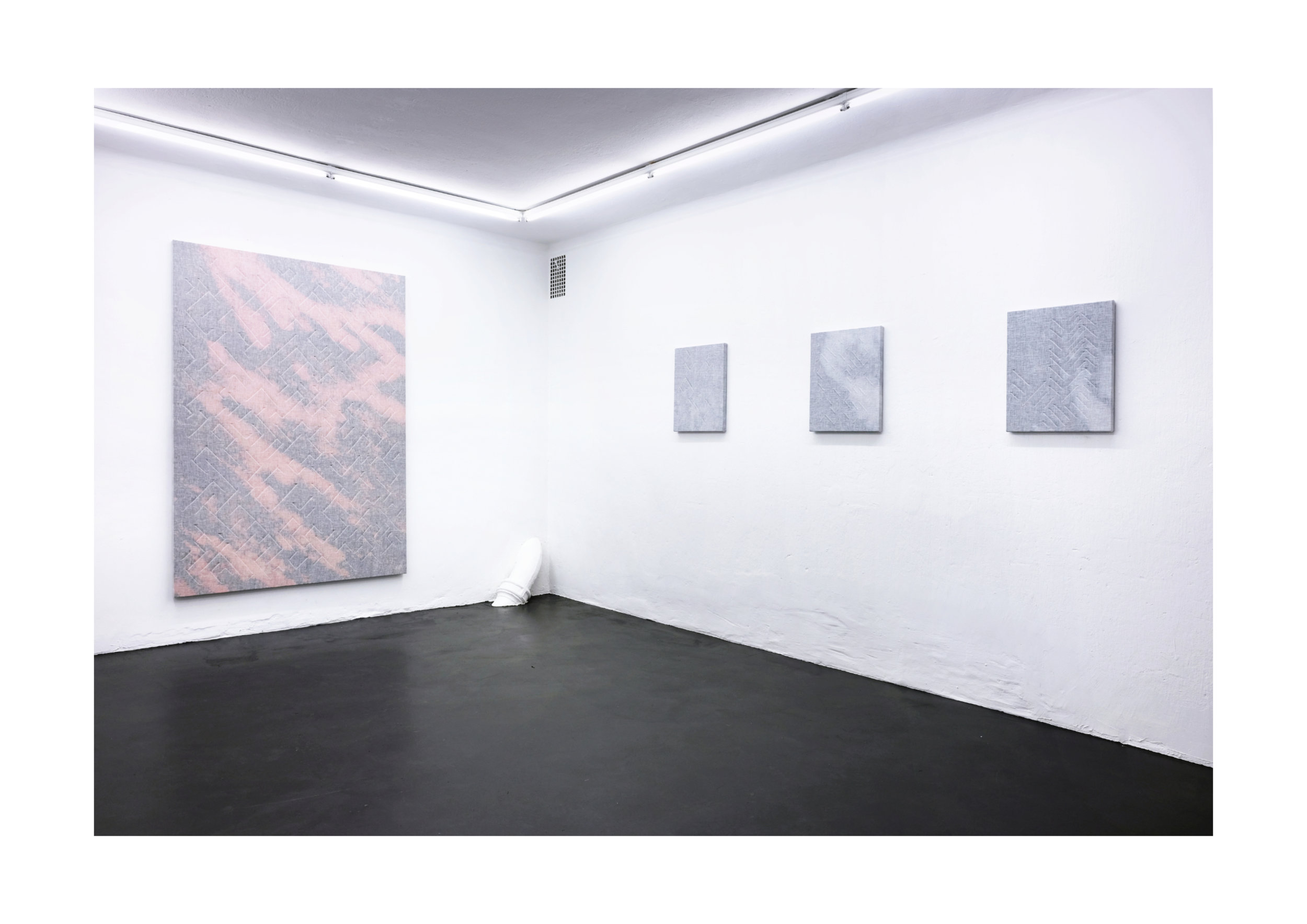 """DICK HEDLUND  """"SETTLE DOWN AND DRIFT OUT"""" Elastic Gallery,2018"""