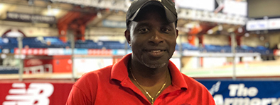 Dwayne Evans:  Evans has coached multiple New York state and city champions and is currently an assistant indoor track and field coach for Team Jamaica. He was an All-American hurdler while at Ohio State.