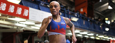 Ce'Aira Brown:  The native of Philadelphia, Brown now runs professionally for Hoka One One NJNY Track Club after a successful career at Hampton University. Brown most recently finished 8th at the 2019 World Championships in Doha.