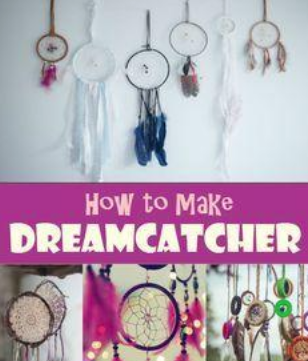 Handmade Dreamcatcher. - In Native American tradition, dreamcatchers help filter our good and bad dreams.