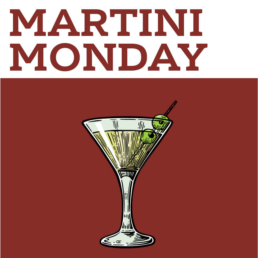 $2 Off Martinis $5 House Call on Draft -