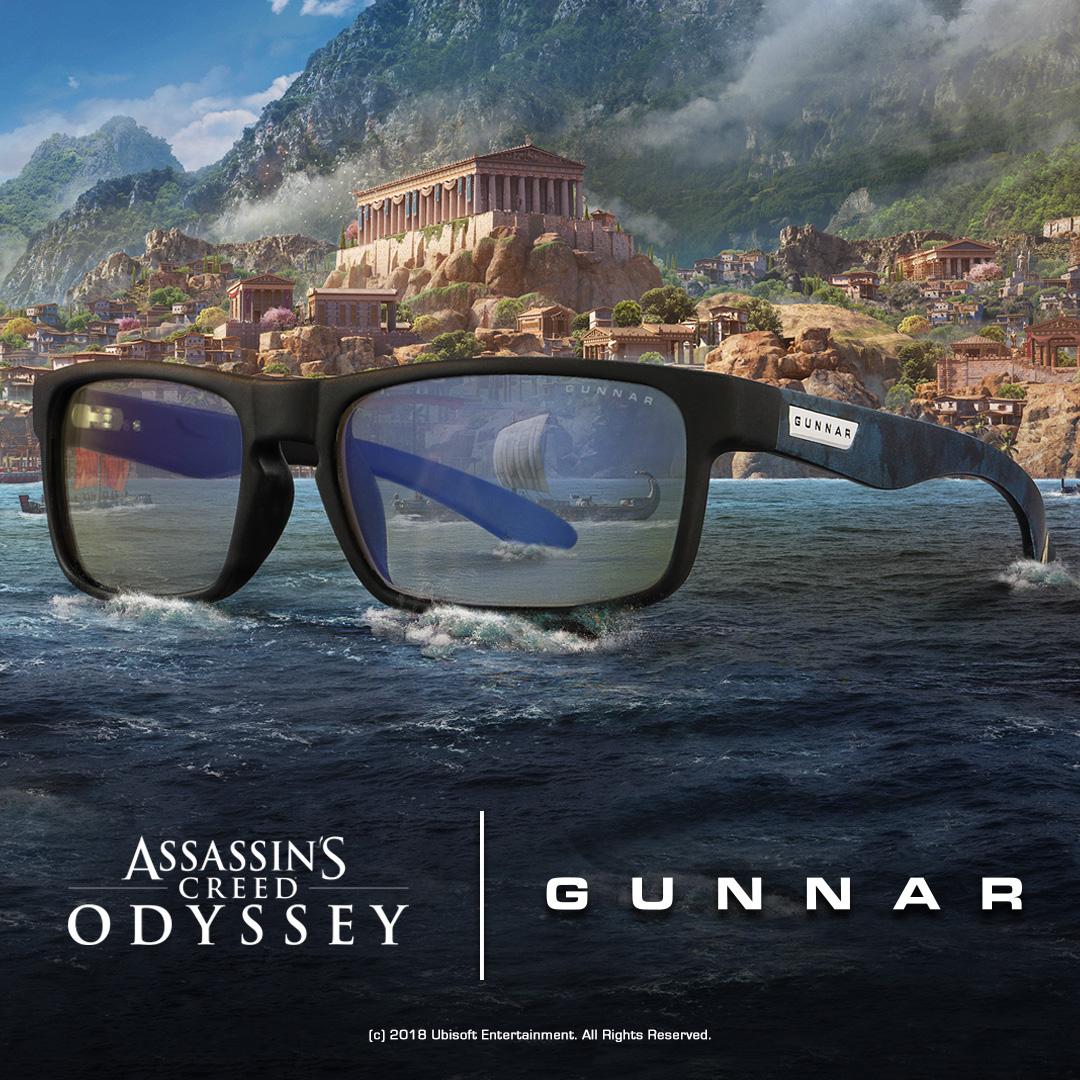 Assassin's Creed X GUNNAR Collaboration