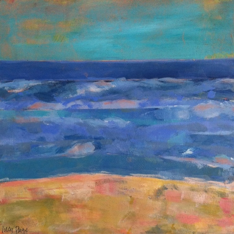 lucy paige painter key west artist abstract - Beach Days 1.jpg