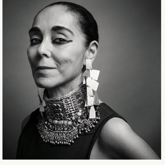 acb in seriously good company. Shirin Neshat. @the_gentlewoman. FIRE.