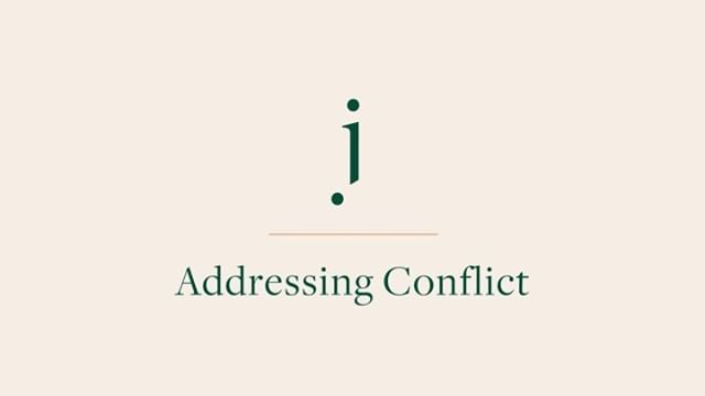 Today I want to remind you that conflict - something that's difficult - is so important to reaching your next level.