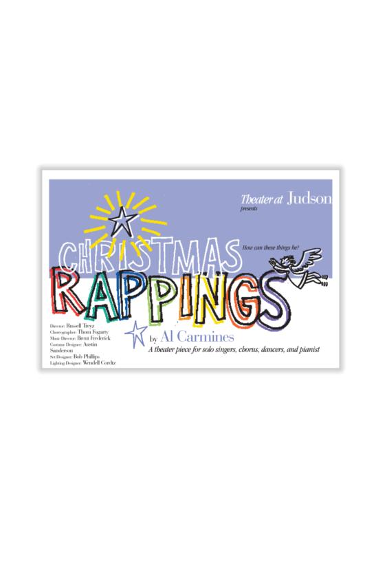 Poster for al Carmine's Christmas Oratorio, Christmas Rappings
