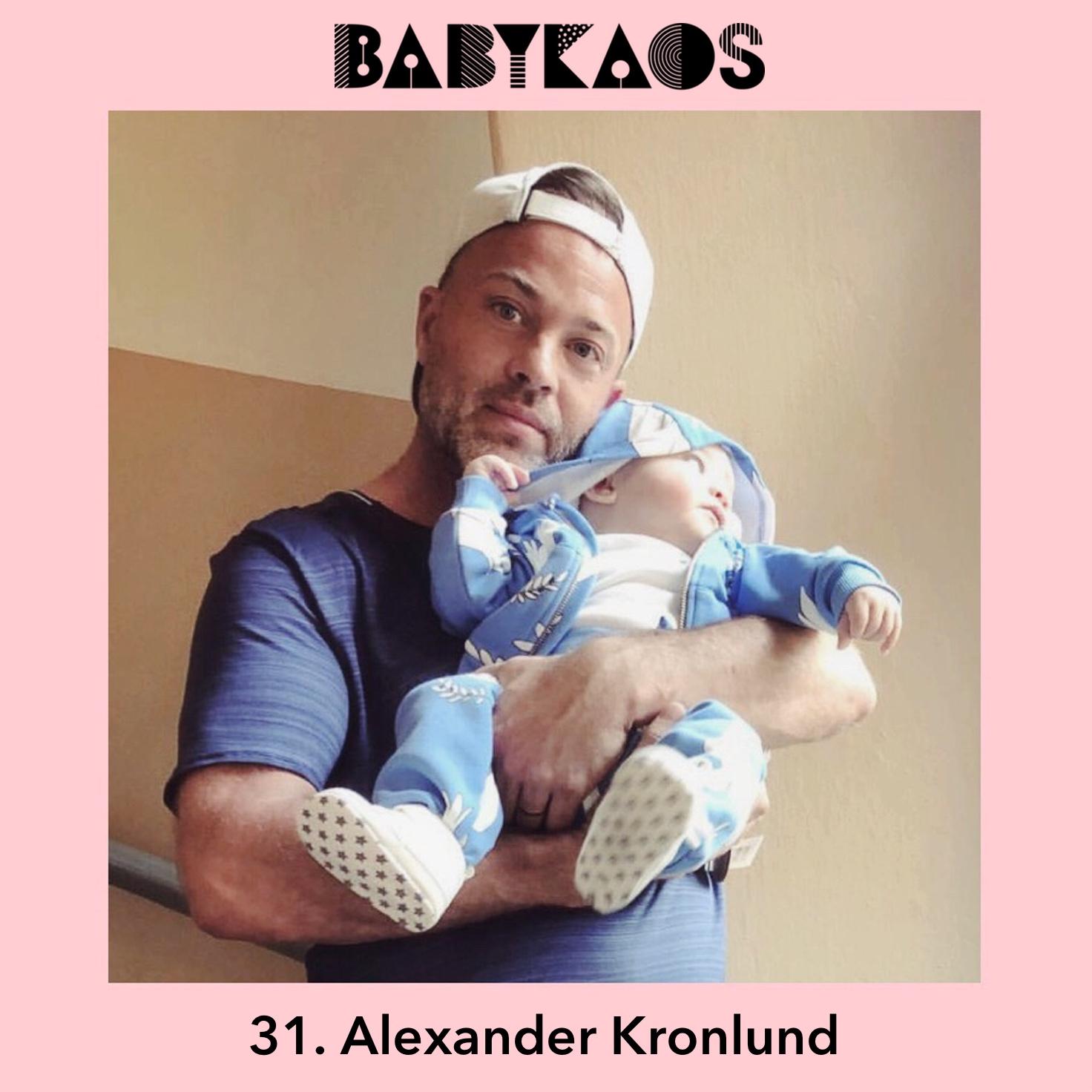 alexander kronlund gästar babykaos