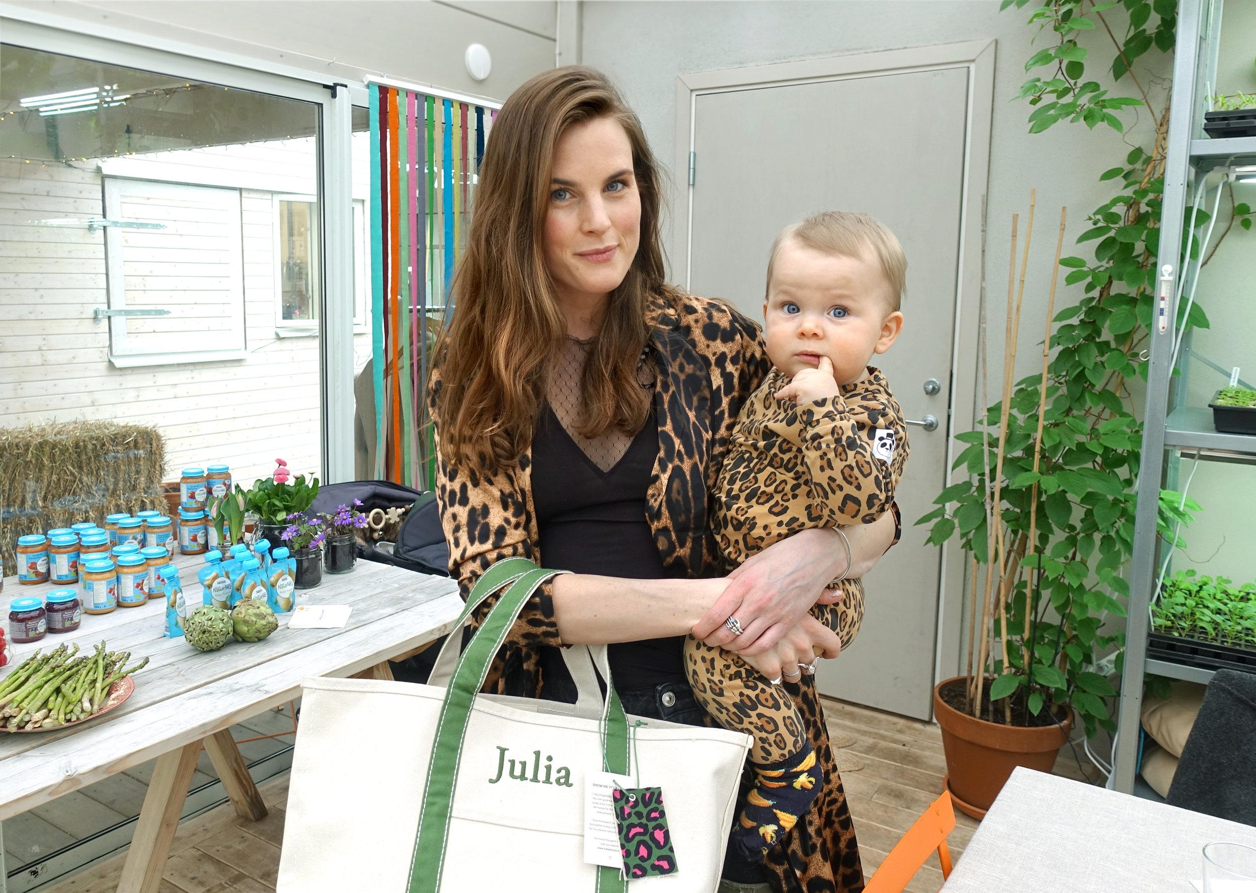 Julia Anjou & Winston NaturNes Nestle