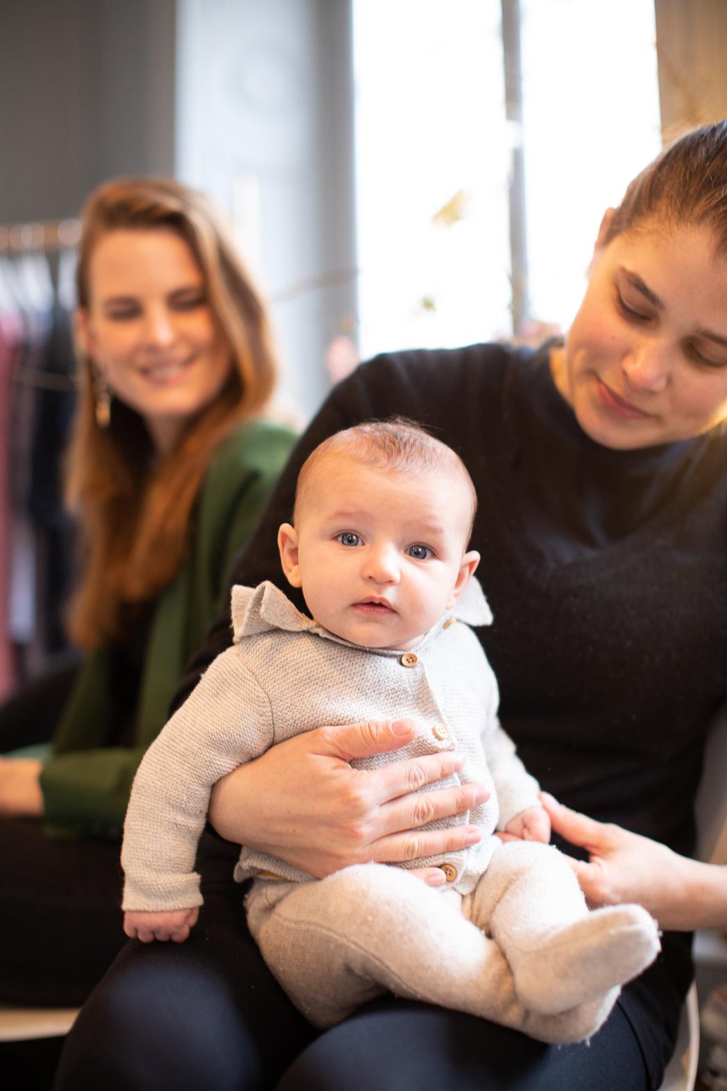 Jag med Julia Stridh's URGULLIGA bebis