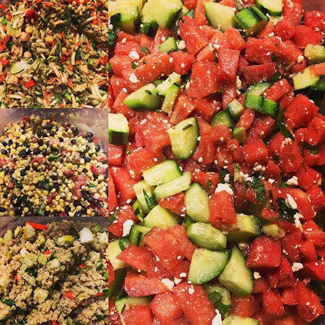 Get your salad on at Clinton community Farmers Market Sunday 8/18 9am to 1pm #clintoncommunityfarmersmarket #bluemoonculinary #organiceats #farmtotable #veganfood #vegetarian