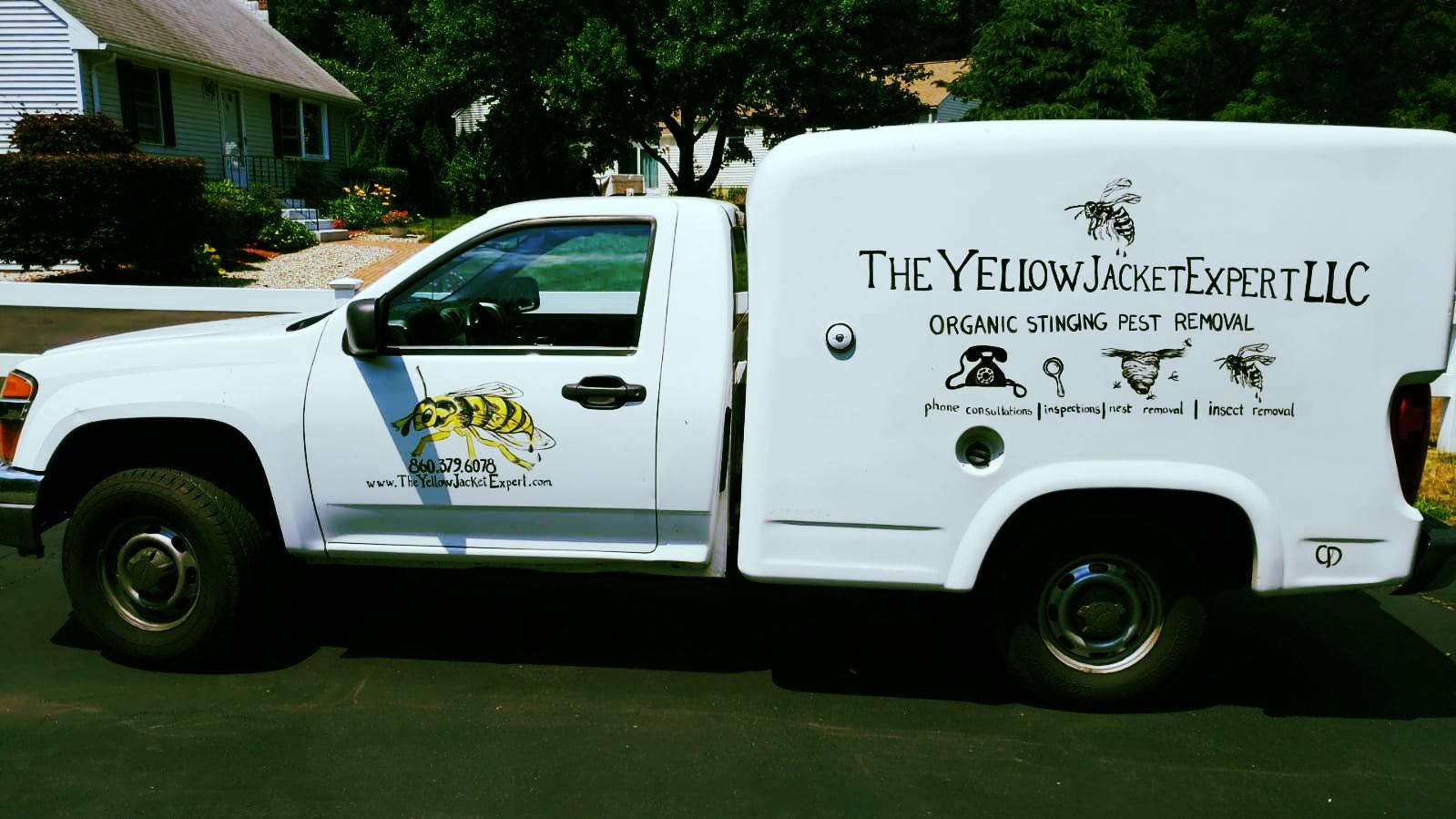 The YellowJacket Expert LLC van