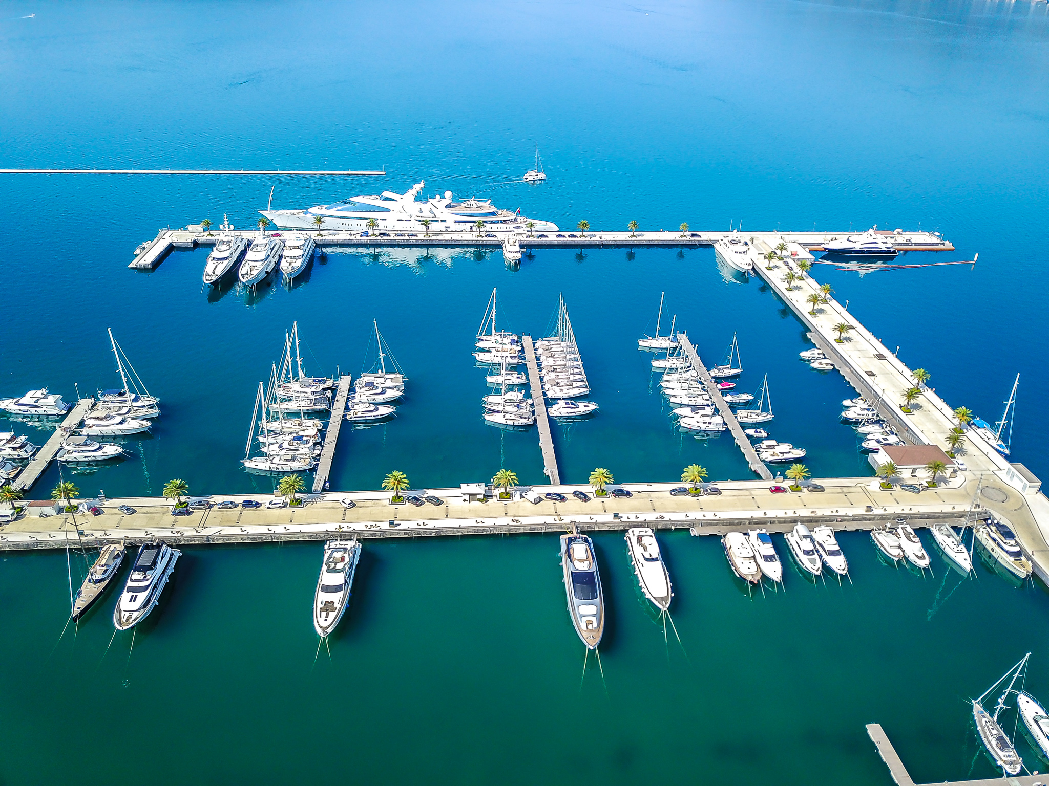 THE MARINA AT PORTO MONTENEGRO