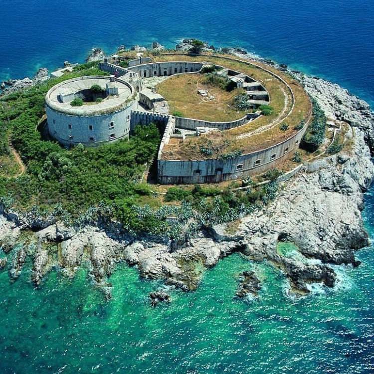 AERIEL VIEW OF MAMULA FORTRESS