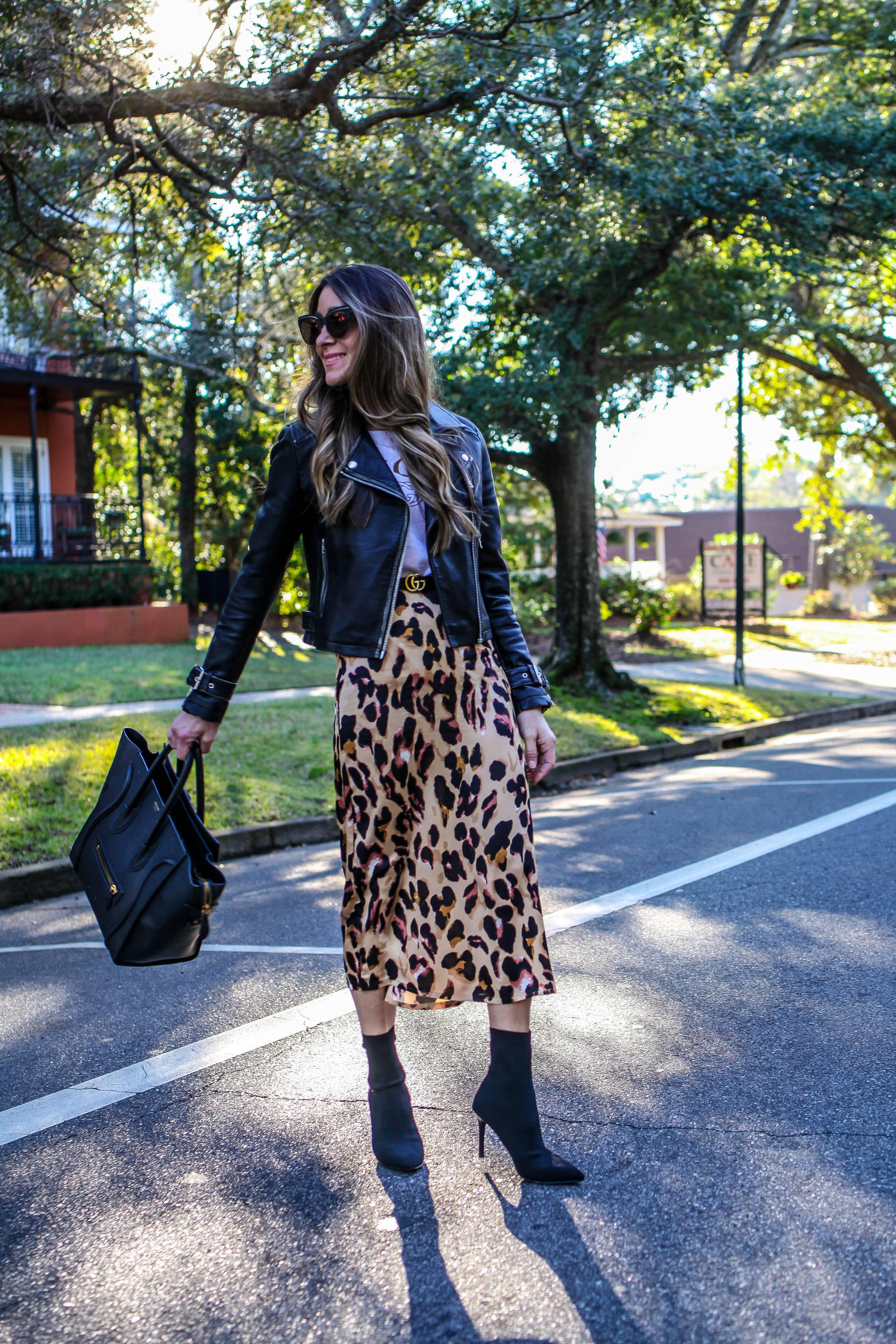 amazon leopard skirt