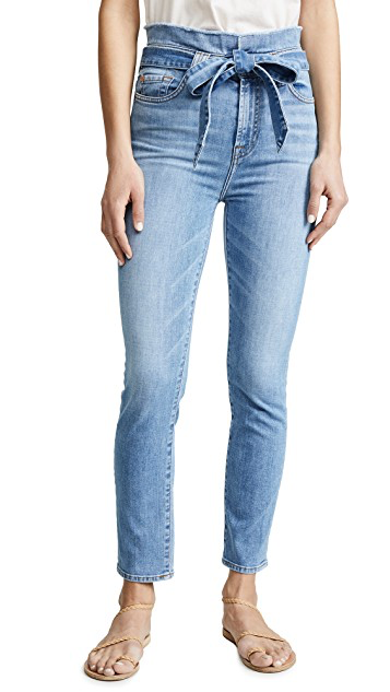 7 for all mankind paperbag jean