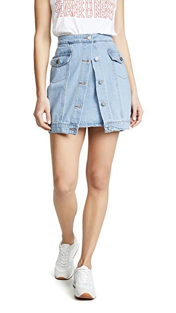 CMEO Denim Skirt