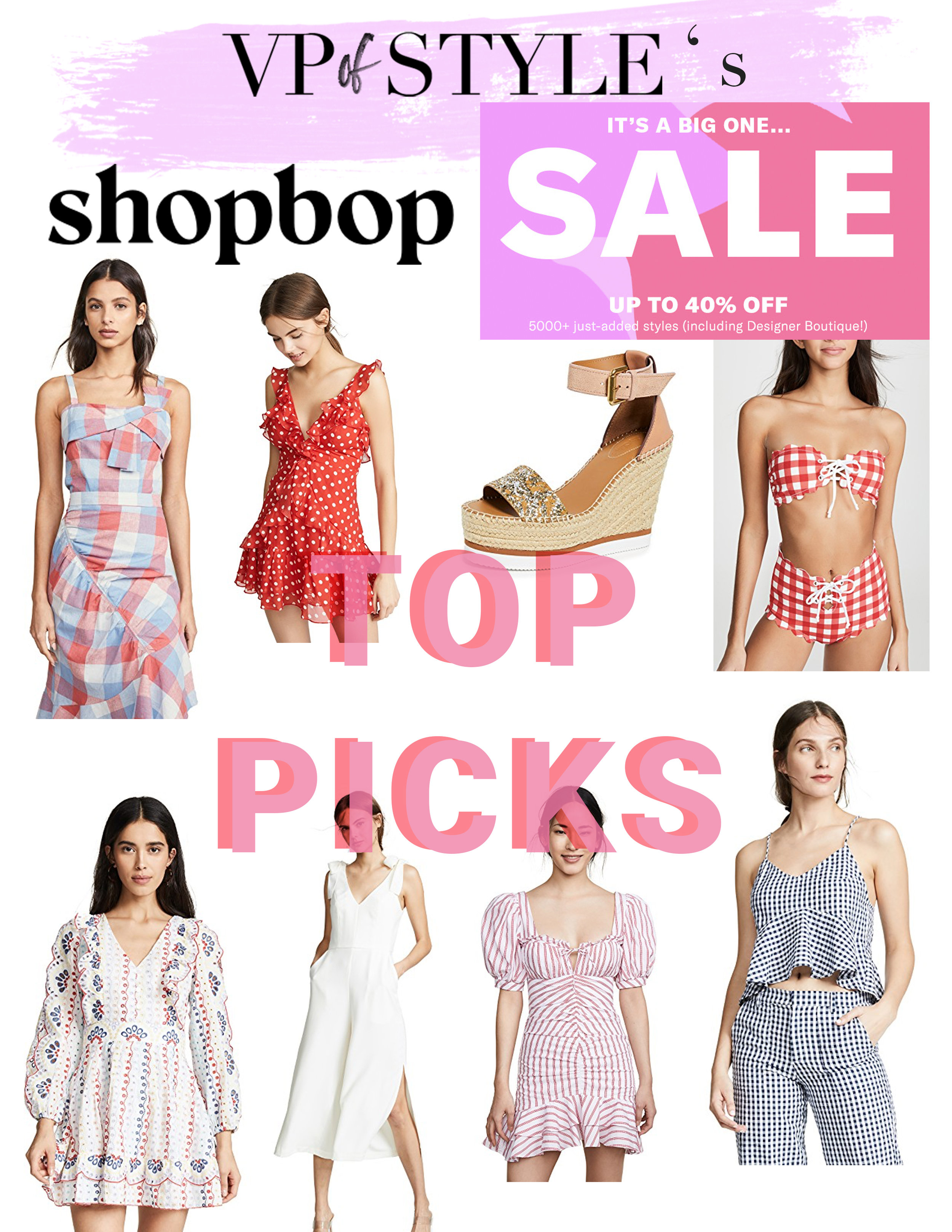 shop bop sale picks