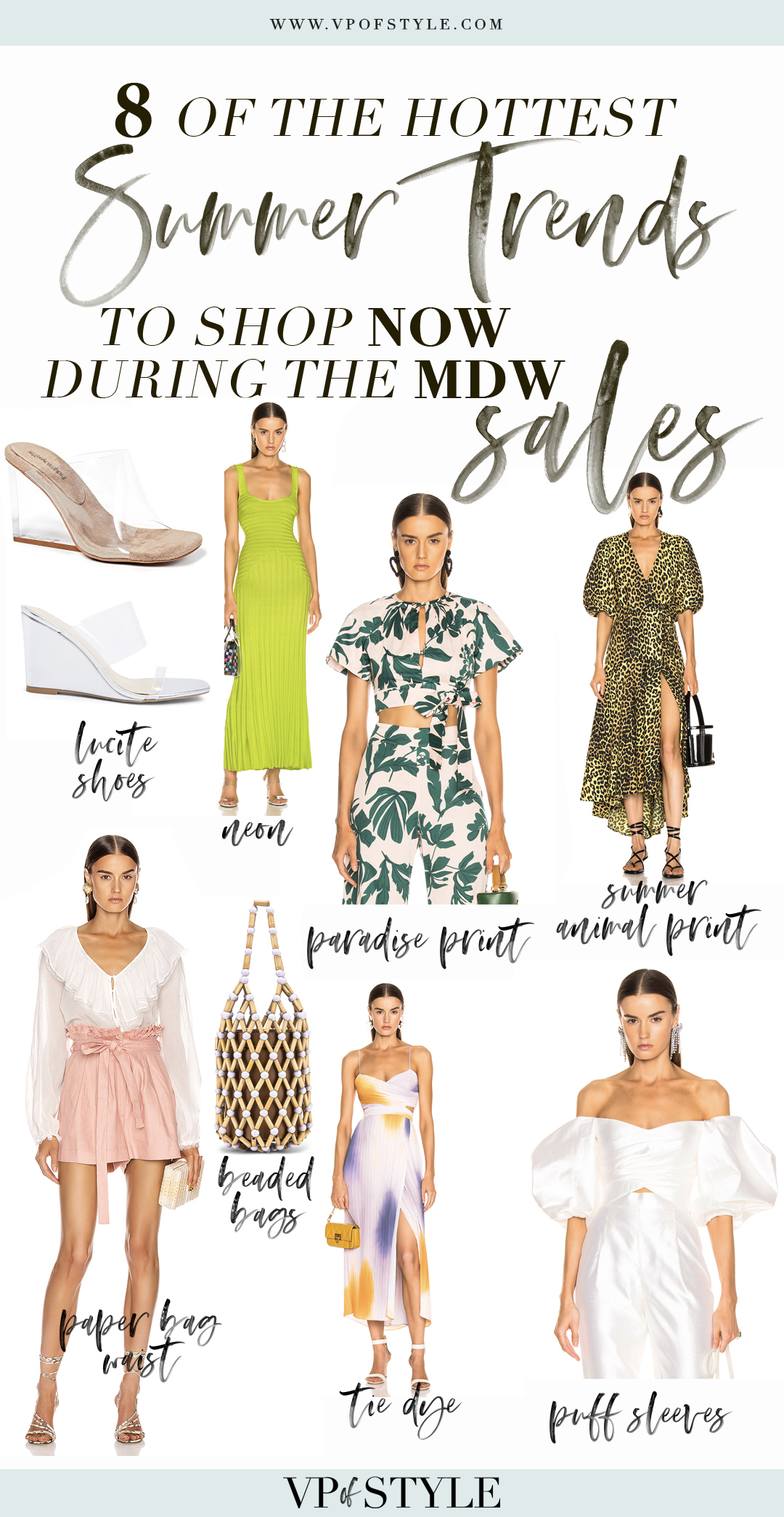 8 summer 2019 trends to shop and wear now