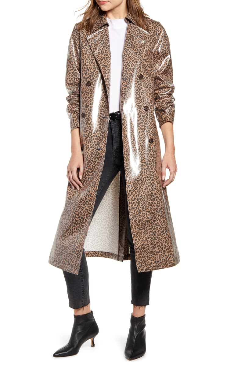 2. - How cute is this leopard rain coat from one of my favorite designers, Arielle Charnas of Something Navy. I love leopard and I thought this was something different being a rain jacket. I always need one for fall/winter in South Alabama.