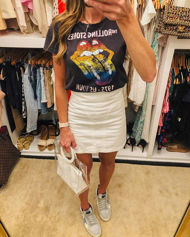 Graphic tees have been my 🎶 jam 🎶 lately! I love anything that can be styled in a multitude of ways to fit my mood for the day.....from my favorite distressed denim to a silk midi skirt with heels! I'm linking some of my favs I have found for under $20! @liketoknow.it http://liketk.it/2DXnV #liketkit #LTKunder50 #LTKunder100 #LTKstyletip #ltksummer #ltkfalltransition #vpmirrormonday #falltransition #graphictee #ootd #lotd #ggdb #goldengoose