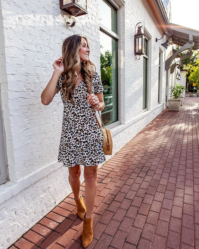 Leopard is life.....swipe for a look at all of the animal print I'm loving and what's in my cart at the moment. 🐆 🐆 dress is $15 @amazonfashion prime. Wearing a size small. http://liketk.it/2F5i0 #liketkit @liketoknow.it #LTKshoecrush #LTKstyletip #LTKunder100 #LTKunder50 #LTKworkwear #LTKsalealert