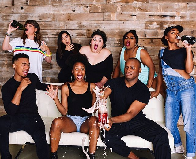 WE DID THE DAMN THING. 💜 Who would have believed that a sex-fail-tell-all-90s-rap-sing-along-multimedia-stage-spectacle would become one of the first female written and produced shows to travel outside of Oklahoma? After 3 states, 9 shows, hundreds of miles, and countless hours of rehearsal, we're coming HOME! We're so full of gratitude, love, light, coffee, KC BBQ, & booze. Thank you. Thank you. THANK YOU. 💕🎤⬇️